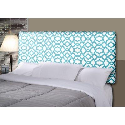 Devaney Upholstered Panel Headboard Size: King, Upholstery: Blue