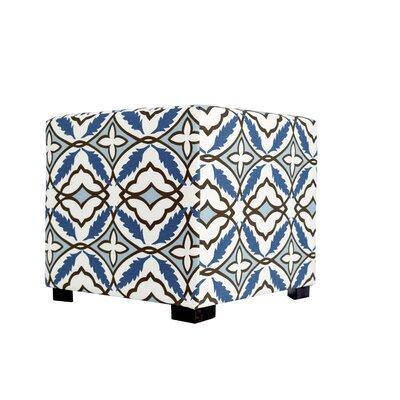 Eden Ottoman Upholstery: Blue