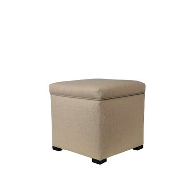 Tami Upholstered Storage Ottoman Upholstery: Beige