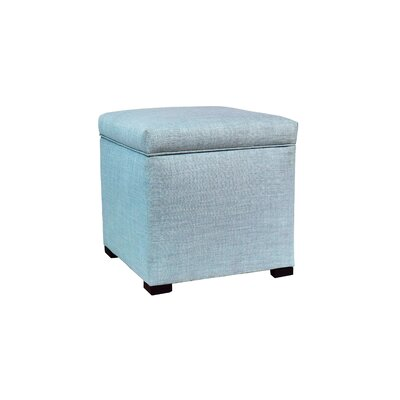 Tami Upholstered Storage Ottoman Upholstery: Sea Mist Green