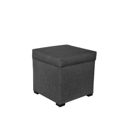 Tami Upholstered Storage Ottoman Upholstery: Dark Gray