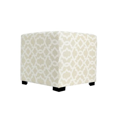 Sheffield 4 Button Tufted Ottoman Upholstery: Tan