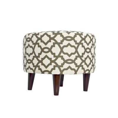 Sheffield Upholstered Ottoman Upholstery: Brown