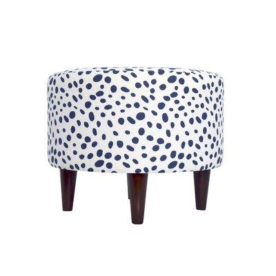 Togo Upholstered Ottoman Upholstery: Navy