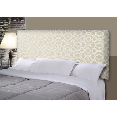 Sheffield Alice Upholstered Panel Headboard Size: California King, Upholstery: Tan