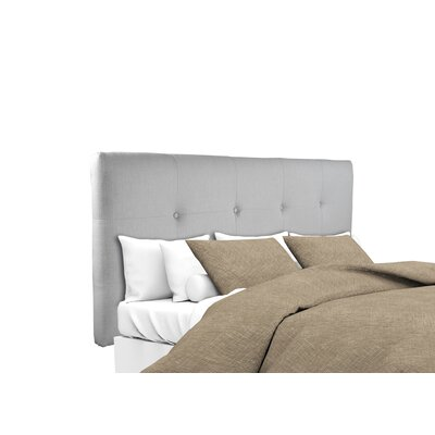 Tilden Upholstered Panel Headboard Size: Queen, Upholstery: Silver Gray