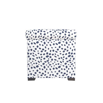 Togo Mini Sole Secret Storage Ottoman Upholstery Color: Navy