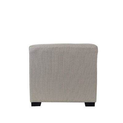 Woodside 4 Button Tufted Ottoman Upholstery: Khaki