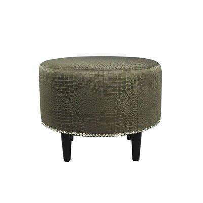 Tillie Upholstered Ottoman Upholstery: Mocha