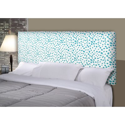 Togo Alice Upholstered Panel Headboard Size: California King, Upholstery: Aqua Blue