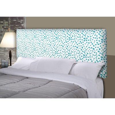 Togo Alice Upholstered Panel Headboard Size: California King, Upholstery: Aqua Blue
