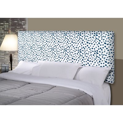 Togo Alice Upholstered Panel Headboard Size: King, Upholstery: Navy