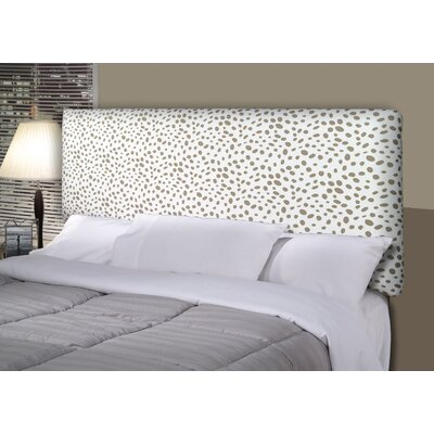 Togo Alice Upholstered Panel Headboard Size: California King, Upholstery: Brown