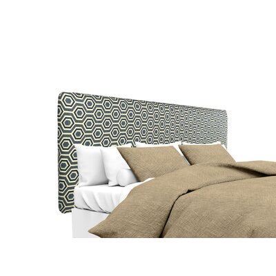 Ashton Upholstered Panel Headboard Size: Twin, Upholstery: Wedgewood