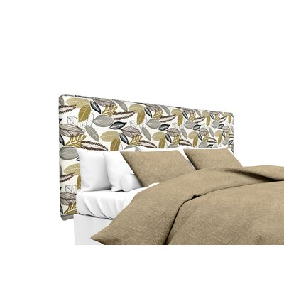 Upholstered Panel Headboard Size: King, Upholstery: Driftwood