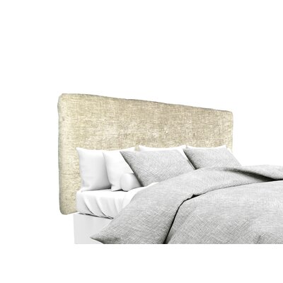 Atlas Upholstered Panel Headboard Size: Twin, Upholstery: Sterling