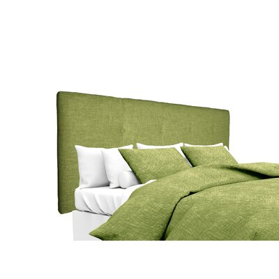 Key Largo Upholstered Panel Headboard Size: King, Upholstery: Grass