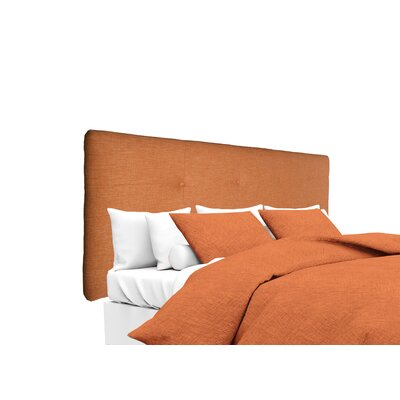 Key Largo Upholstered Panel Headboard Size: Twin, Upholstery: Terracotta