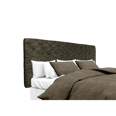 Lucky Upholstered Panel Headboard Size: Twin, Upholstery: Phantom