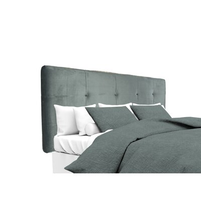 Mystere Upholstered Panel Headboard Size: King