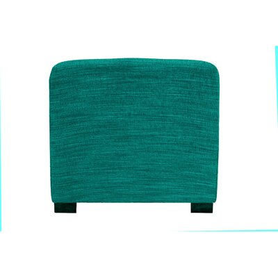 Lucky Ottoman Upholstery: Turquoise