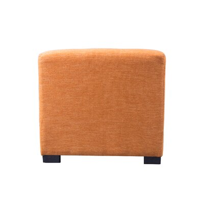 Key Largo Cube Ottoman Upholstery: TerraCotta