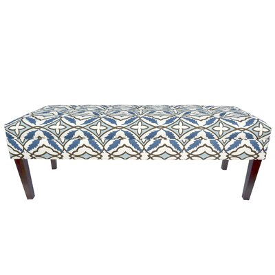 Kaya Eden Upholstered Bedroom Bench Upholstery Color: Cadet