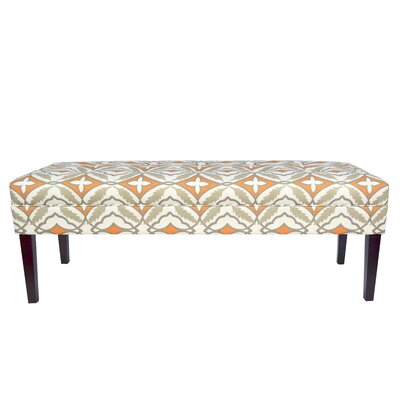 Kaya Eden Upholstered Bedroom Bench Upholstery Color: Cinnamon