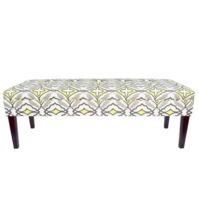 Kaya Eden Upholstered Bedroom Bench Upholstery Color: Lemon