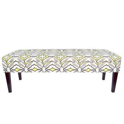 Kaya Eden Upholstered Bedroom Bench Upholstery Color: Lemon