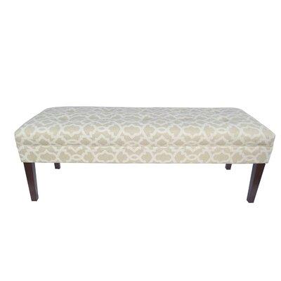 Kaya Sheffield Upholstered Bedroom Bench Upholstery Color: Cloud