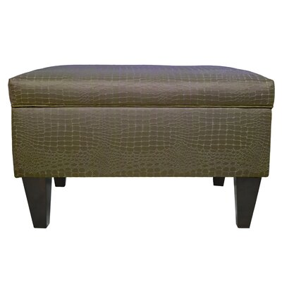 Brooklyn Upholstered Tillie Square Legged Box Storage Ottoman Upholstery: Mocha