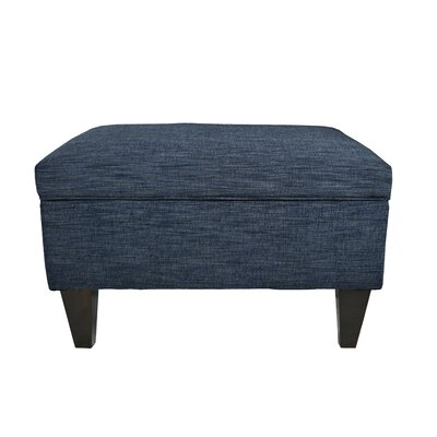 Brooklyn Upholstered Square Legged Box Storage Ottoman