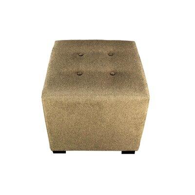 Merton Allure Cube Ottoman Upholstery: Pebble
