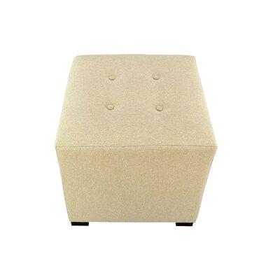 Merton Dawson7 Cube Ottoman Upholstery: Pismo