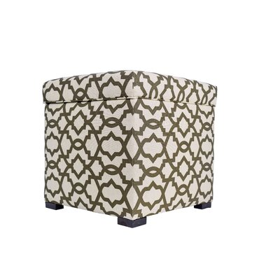 Devaney Upholstered Storage Ottoman Upholstery: Cave
