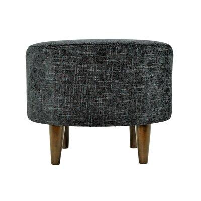 Atlas Sophia Round Standard Ottoman Upholstery: Midnight