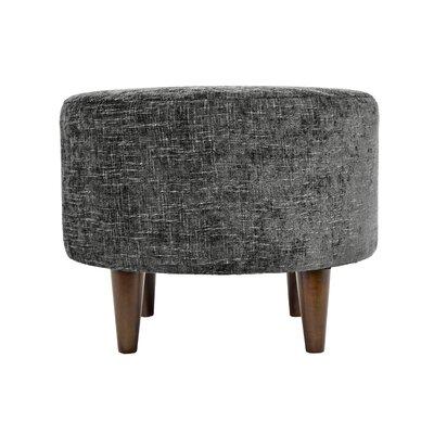 Atlas Sophia Ottoman Upholstery: Steel