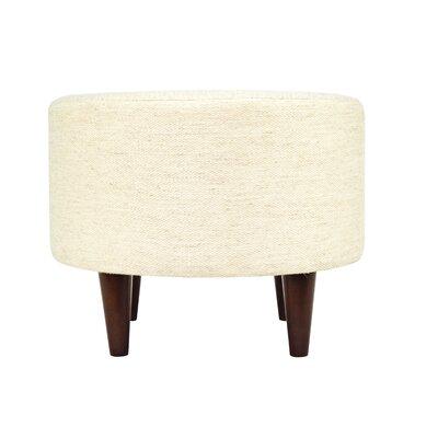 Belfast Sophia Ottoman Upholstery: Ivory