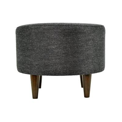 Belfast Sophia Ottoman Upholstery: Charcoal