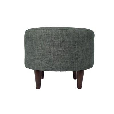 Bennett Sophia Ottoman Upholstery: Charcoal
