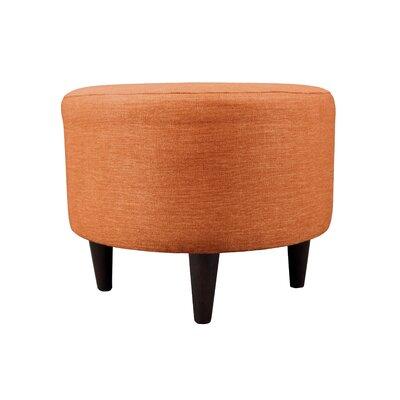 Key Largo Sophia Round Standard Ottoman Upholstery: TerraCotta