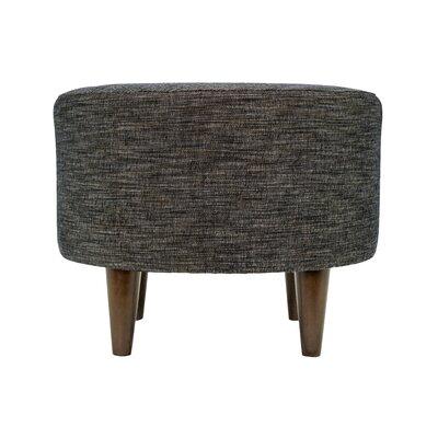 Lucky Sophia Round Standard Ottoman Upholstery: Phantom