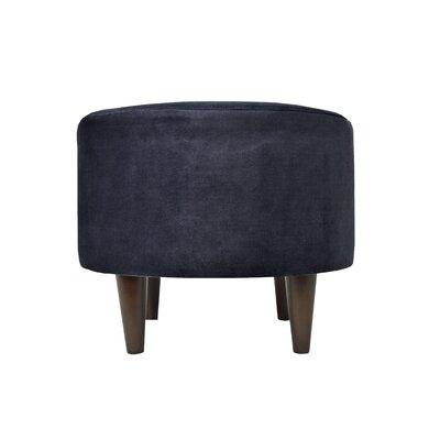 Obsession Sophia Round Standard Ottoman Upholstery: Indigo