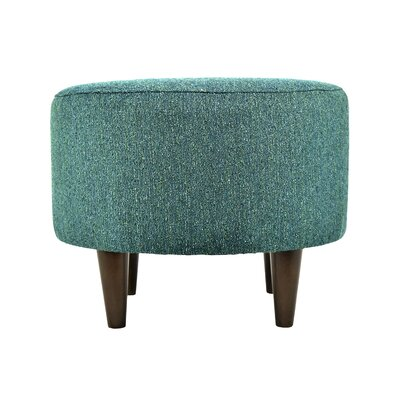 Sophia Round Standard Ottoman Upholstery: Teal