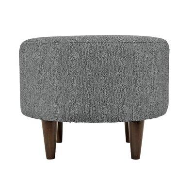 Sophia Round Standard Ottoman Upholstery: Smoke