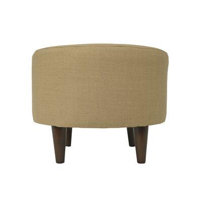 Allure Sophia Round Standard Ottoman Upholstery: Pebble