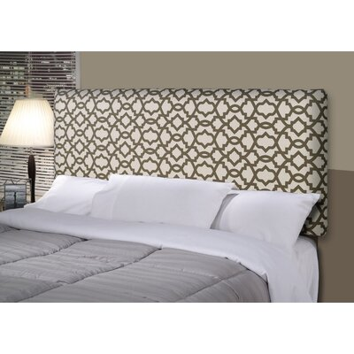 Sheffield Alice Upholstered Panel Headboard Upholstery: Brown, Size: Full