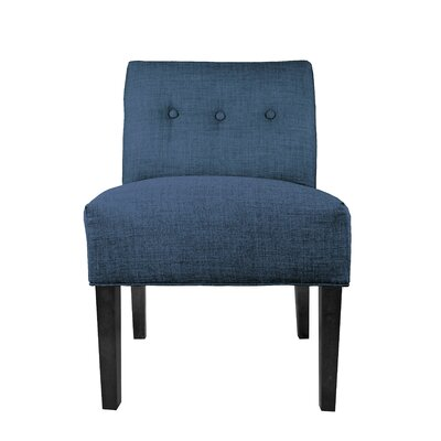 Key Largo Slipper chair Upholstery: Denim