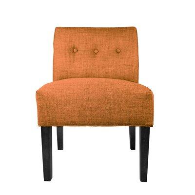 Key Largo Slipper chair Upholstery: TerraCotta